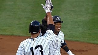 NYM@NYY: Yanks connect on back-to-back-to-back jacks