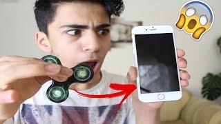 1000 MPH FIDGET SPINNER VS IPHONE !! 😲😲 *GEHT SCHIEF*