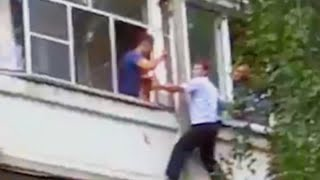 This Cop Scaled a Building to Save a Baby From Her Father
