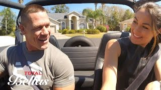 John teaches Brie how to drive stick shift: Total Bellas Preview Clip, Oct. 12, 2016