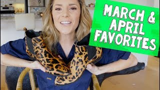 MARCH & APRIL FAVORITES // Grace Helbig