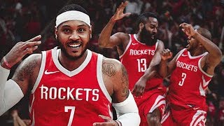 Carmelo Anthony Agrees to Sign with Rockets!