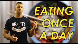 Lose Weight Eating One Meal a Day 🍴 Benefits of Eating Once Per Day   Eat One Time Weight Loss Diet