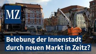 Belebung der Innenstadt durch neuen Markt in Zeitz?