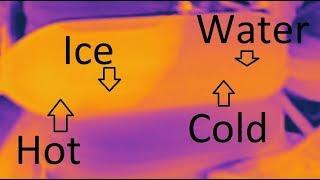 Water Heats Up As It Freezes!?