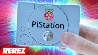 PiStation (RetroPie + Mini PlayStation) - Rerez