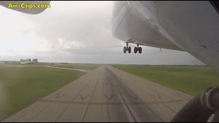 Antonov 225 Mriya outboard camera FULL takeoff, world