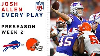 Every Josh Allen Play vs. Browns