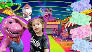 Chuck E Cheese Family Fun Indoor Games and Adventures! Nack Time
