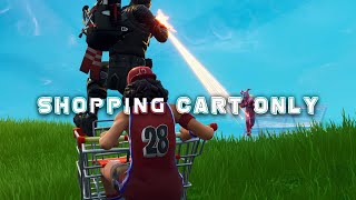 Shopping cart META is UPON US