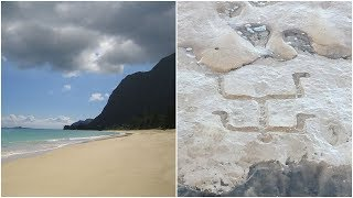 Tourists Were On A BeachIn Hawaii When A 400 Year Old Secret Was Revealed Beneath The Sands