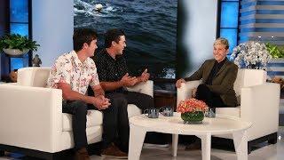 Ellen Meets Inspiring Whale Rescuers