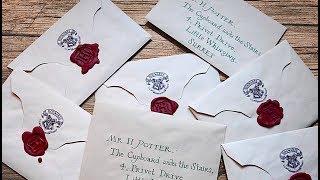 DIY Harry Potter Letter | PAUADELL