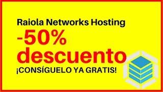 Cupón descuento RAIOLA NETWORKS - 50% descuento