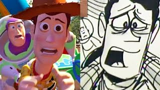 """Toy Story Side-By-Side : """"The Final Choice"""" 