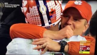 DeShaun Watson to Hunter Renfrow winning touchdown 2017 National Championship
