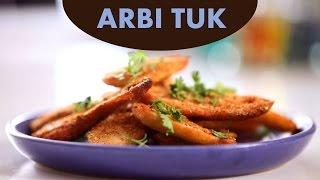 Arbi Tuk (Kachalu) Recipe in Sindhi By Veena Gidwani   Simply Sindhi Recipe