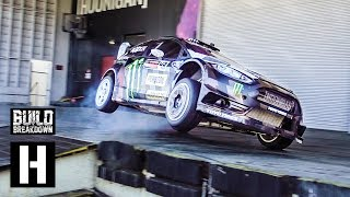 Ken Block Slays the Donut Garage in his 650HP Fiesta #Yardkhana