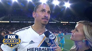 Zlatan Ibrahimovic on LA Galaxy's draw vs. LAFC | 2019 MLS Season