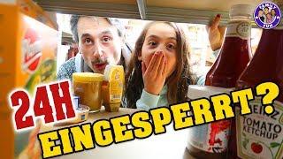 24 STUNDEN EINGESPERRT im KELLER ? - Our life Family Fun
