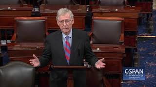 Sen. McConnell says president will sign bill and declare a national emergency