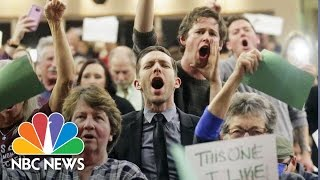 Republican Lawmakers Face Angry Constituents At Town Halls | NBC News