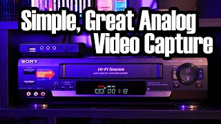 The Best Easy Way to Capture Analog Video (it's a little weird)