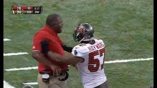 10 Craziest Player-Coach Confrontations EVER