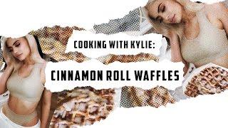 My Cinnamon Roll Waffles
