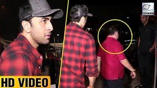 Ranbir Kapoor Embarrassed By Rishi Kapoor