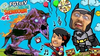 BATMAN CHALLENGE GAMES! FGTEEV Scribblenauts Showdown #2 (THE MUSICAL w/ Lex & Dudz)