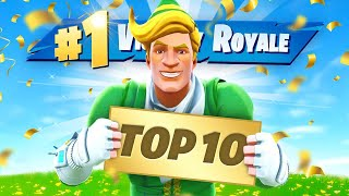 Lachlan's Top 10 Victory Royales In Fortnite!