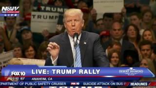 """""""BUILD THAT WALL!"""" Donald Trump Chants After Major Endorsement"""
