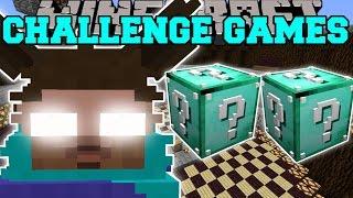 Minecraft: FURBY HEROBRINE CHALLENGE GAMES - Lucky Block Mod - Modded Mini-Game