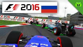 DIE ZEITSTRAFEN-GALA | Russland 1/2 🎮 F1 2016 #64