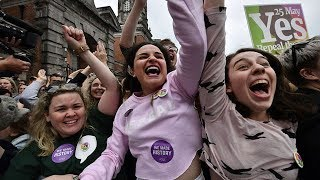Irish vote to repeal abortion ban