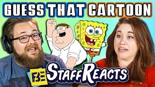 GUESS THAT CARTOON CHALLENGE! #2 (ft. FBE STAFF)
