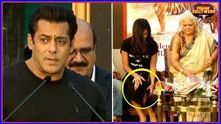 Salman On His Black Buck Case | Katrina Uncomfortable With Her Dress