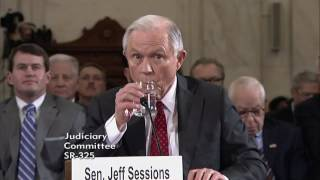 Senator Lee questions Senator Sessions during his Confirmation Hearing to become Attorney General