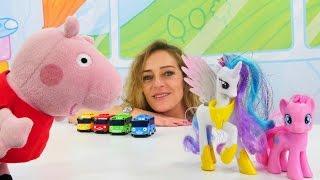 Nicoles Spielzeugkiste - Spielspaß mit #PeppaWutz - Wir zählen Spielsachen