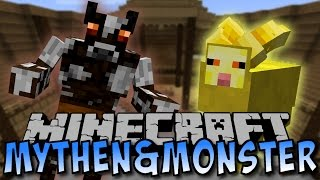 Minecraft MYTHEN & MONSTERS MOD (Minotaurus, Lehm-Boss)  [Deutsch]