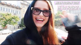Milan Fashion Week in 48 Hours! | Madelaine