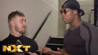 Tyler Bate douses Velveteen Dream: NXT Exclusive, Feb. 21, 2018