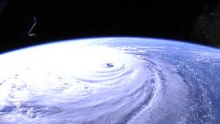 Hurricane Florence's Well-Defined Eye Seen From Space - Sept. 12