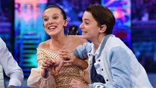 Millie Bobby Brown and Noah Schnapp Funny Moments