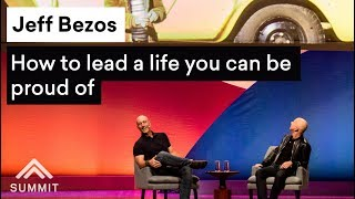 How to lead a life you can be proud of — Jeff Bezos