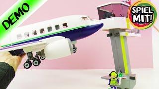 Playmobil Passagier- und Cargoflugzeug mit Tower Deutsch - FLUGZEUG MIT FLUGHAFEN! Spiel mit mir
