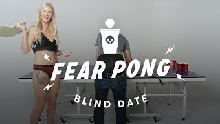 Blind Dates Play Fear Pong  (Peter vs. Ashley)