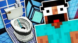 99,9% WÜRDEN DA NICHT REIN SPRINGEN !!! (Minecraft)