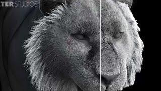 3D Hair and Fur VFX Demo Reel by Dexter Studios (Zelos Fur R&D)
